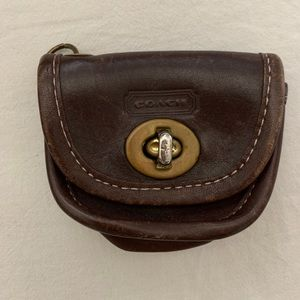 Vintage Coach Keychain Coin Purse